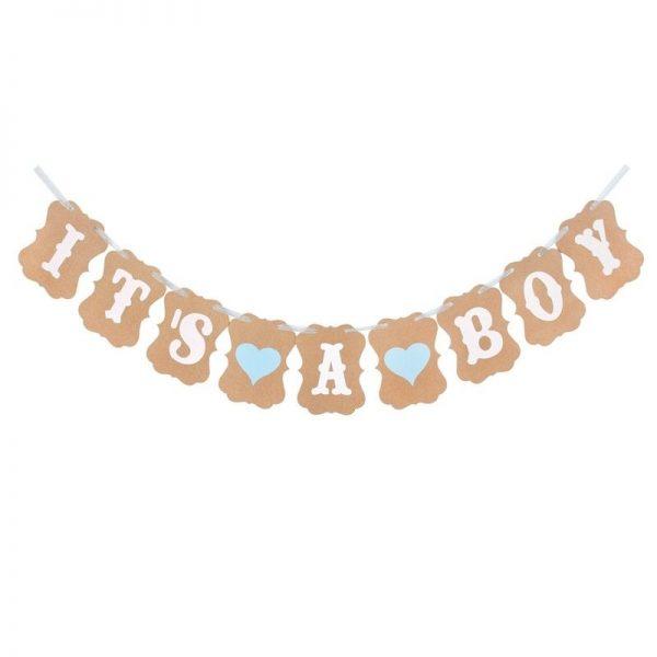 it's a boy natpis