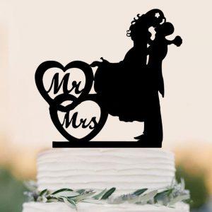 Ukras za tortu mladenci
