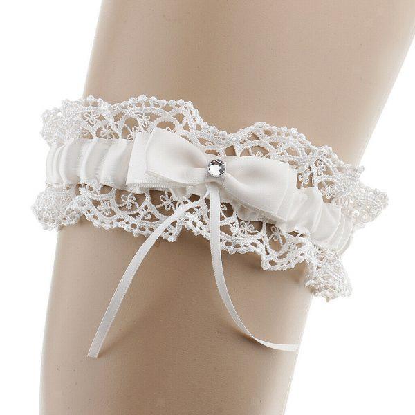podvezica bijela