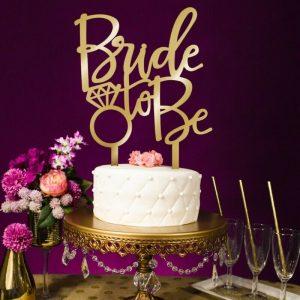ukras za tortu bride to be