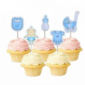 Dekoracija za kolače - 20 komada - plavi