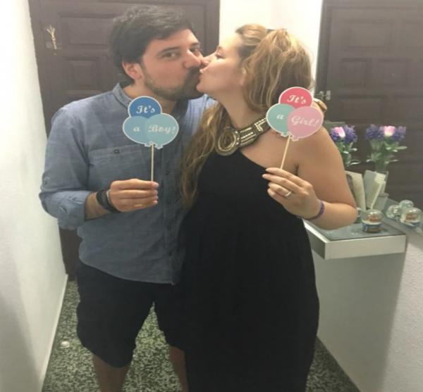 Dodaci za slikanje baby shower gender reveal