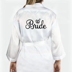 bride satenski ogrtač