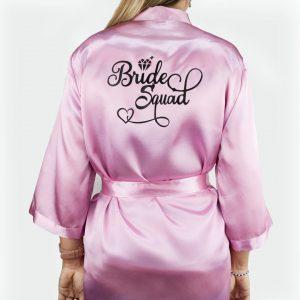 bride squad satenski ogrtač