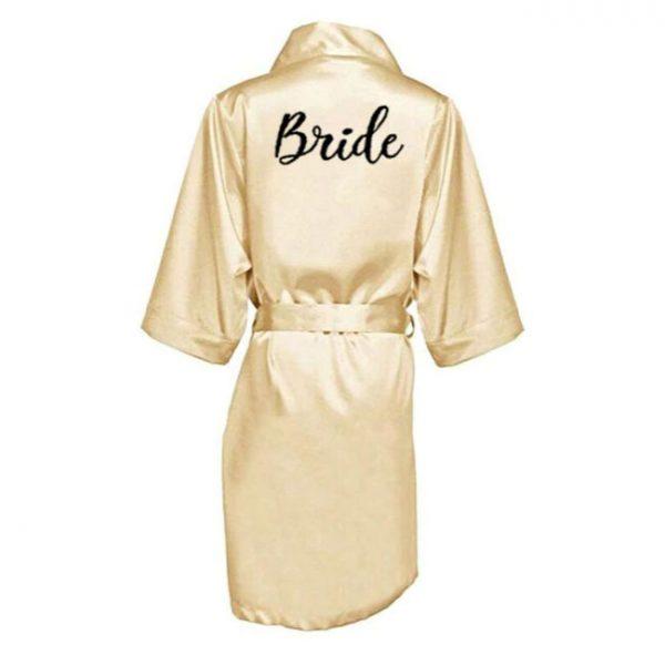 bride satenski ogrtac