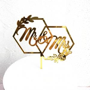 Ukras za tortu – Mr&Mrs