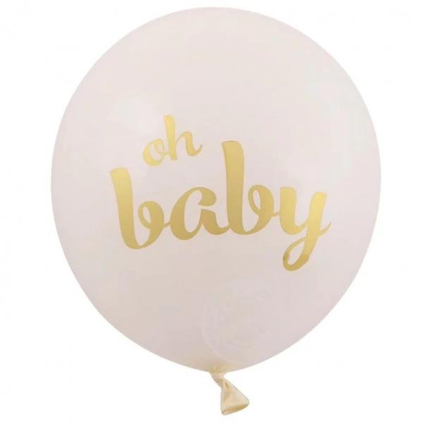 oh baby balon baby shower