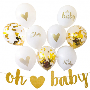 Oh baby, baby shower set