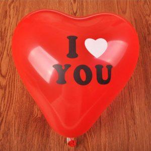 i love you srce balon