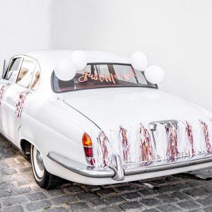 Set za ukrašavanje auta - Just married