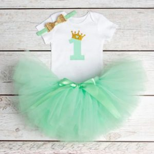 Komplet za 1. rođendan - One Green